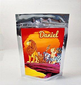 Arte para sacola metalizada Rei Leão