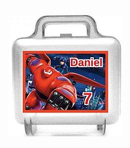 Arte personalizada para maletinha quadrada Operação Big Hero