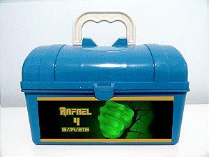 Arte personalizada para maletinha Vingadores