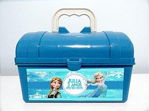 Arte personalizada para maletinha Frozen