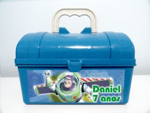 Arte personalizada para maletinha Buzz Lightyear