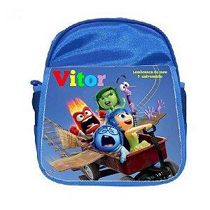Arte para mochila personalizada Divertida Mente