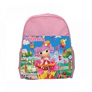 Arte para mochila personalizada Lalaloopsy