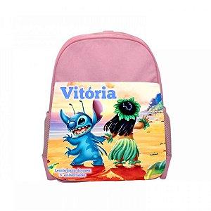 Arte para mochila personalizada Lilo & Stitch