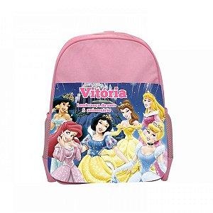 Arte para mochila personalizada Princesas Disney