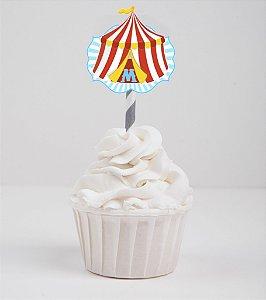 Topper para doces recortada Circo