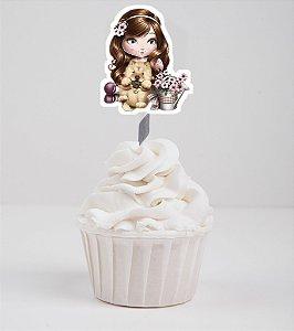 Arte para topper para doces recortada Jolie