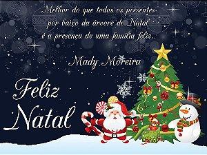 Cartão de Natal digital personalizado