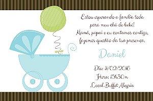 Convite digital personalizado para Chá de Bebê 001