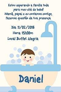 Convite digital personalizado para Chá de Bebê 005