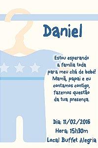 Convite digital personalizado para Chá de Bebê 006