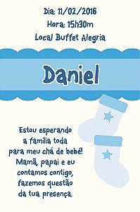 Convite digital personalizado para Chá de Bebê 007