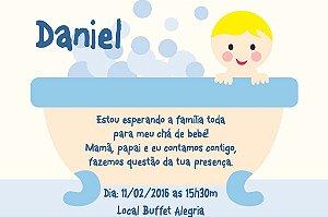 Convite digital personalizado para Chá de Bebê 008