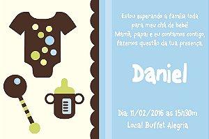 Convite digital personalizado para Chá de Bebê 009