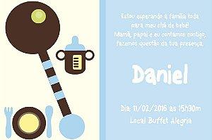 Convite digital personalizado para Chá de Bebê 010