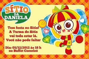 Convite digital personalizado Sítio do Pica-Pau Amarelo 002