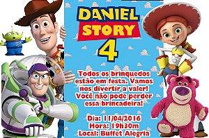 Convite digital personalizado Toy Story 002