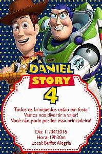 Convite digital personalizado Toy Story 005
