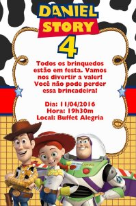 Convite digital personalizado Toy Story 006