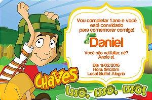 Convite digital personalizado Chaves 004