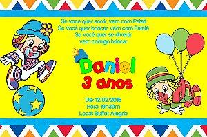 Convite digital personalizado Patati Patata 003