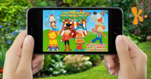Convite digital personalizado Circo 012