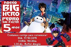 Convite digital personalizado Operação Big Hero 004