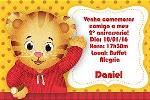 Convite digital personalizado Daniel Tigre 002
