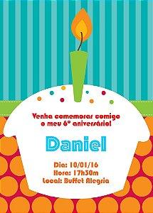 Convite digital personalizado de Aniversário 001