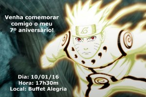 Convite digital personalizado Naruto 002