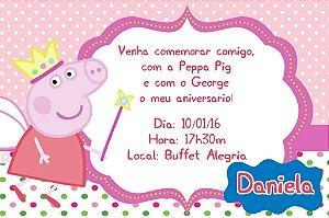 Convite digital personalizado Peppa Pig 004