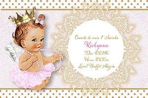 Convite digital personalizado Anjinha Princesa 005