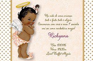 Convite digital personalizado Anjinha Bebe 002