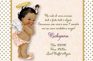 Convite digital personalizado Anjinha Bebe 006