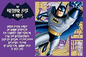 Convite digital personalizado Batman 006