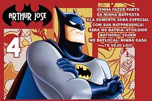 Convite digital personalizado Batman 008