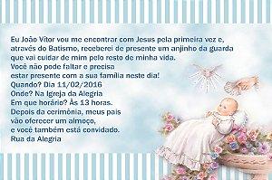 Convite digital personalizado Batizado 010
