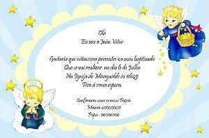 Convite digital personalizado Batizado 011