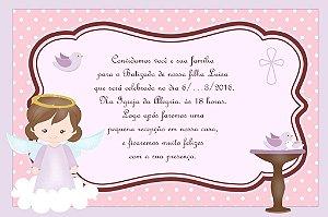 Convite digital personalizado Batizado 012