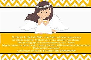 Convite digital personalizado Batizado 069