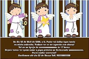 Convite digital personalizado Batizado 070