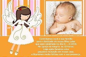 Convite digital personalizado Batizado com foto 072