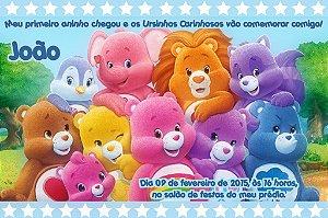 Convite digital personalizado Ursinhos Carinhosos 004