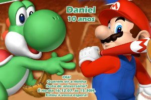 Convite digital personalizado Super Mario 004