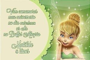 Convite digital personalizado Sininho 020