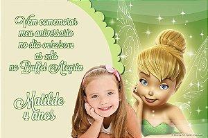 Convite digital personalizado Sininho com foto 020
