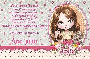 Convite digital personalizado Jolie da Tilibra 005