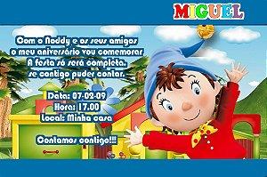 Convite digital personalizado do Noddy 002