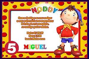 Convite digital personalizado do Noddy 009