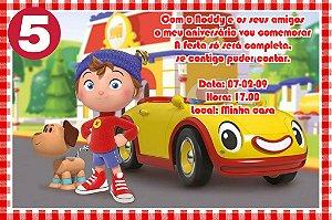 Convite digital personalizado do Noddy 010